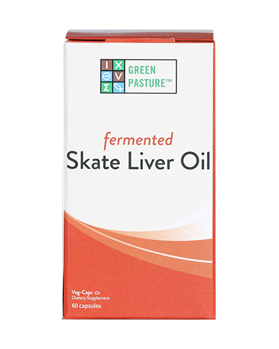 Green Pasture Skate Liver Oil Product Packaging Photo