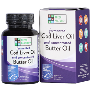 cod liver and butter oil caps