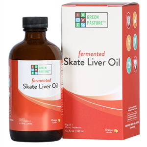 Green Pasture Skate Liver Oil Product & Packaging Photo