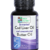 Fermented Cod Liver Oil & Concentrated Butter Oil Blend - Capsule - MSC certified - Unflavored Capsules, 60 capsules