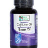 Fermented Cod Liver Oil & Concentrated Butter Oil Blend - Capsule - MSC certified - Unflavored Capsules, 120 capsules