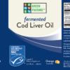Fermented Cod Liver Oil - Liquid - MSC certified - Orange, 6.1 fl.oz. (180mL)