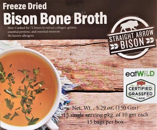 Freeze Dried Bison Bone Broth
