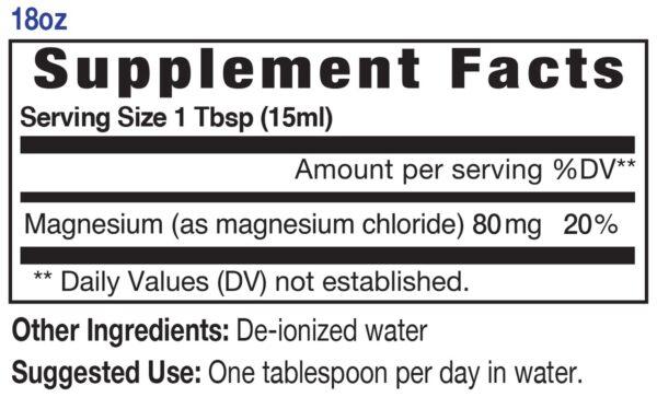 Magnesium 18oz